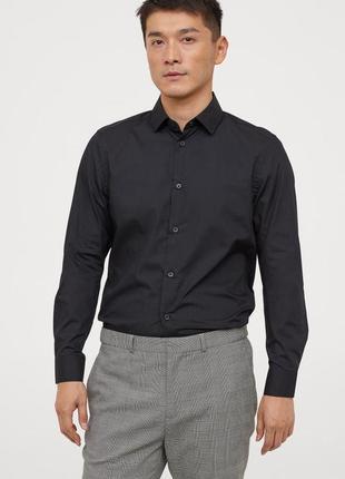 Новая классическая офисная рубашка сорочка regular fit от george