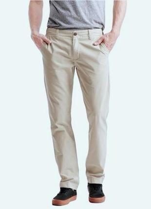 Бежевые хлопковые джинсы request на 50 размер. италия