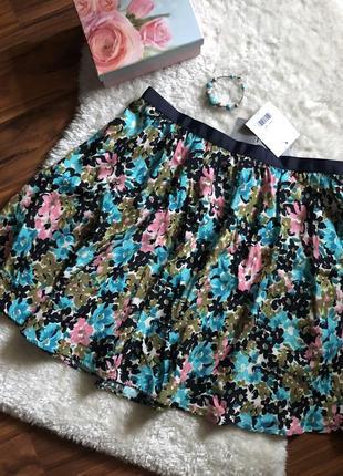 Красивая яркая летняя юбка