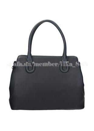 Женская сумка david jones 4070 темно-синяя
