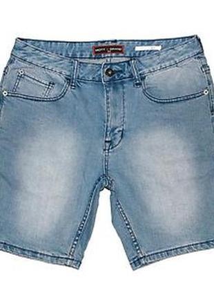 Мужские джинсовые шорты бермуды tu