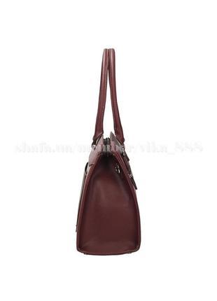 Женская прямоугольная сумка david jones 3932 бордо2