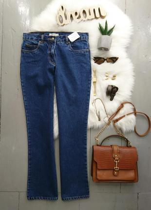Актуальные винтажные джинсы клеш №171