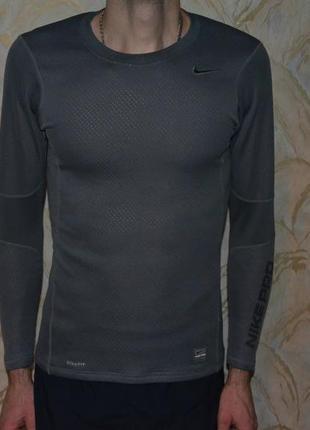 Утепленная спортивная термо кофта nike pro