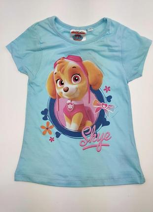 Детская футболка для девочки дисней щенячий патруль