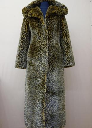 Шуба - леопард tissavel (арт. f-sh-2)