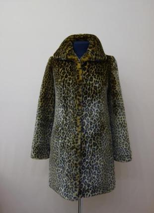 Шуба - леопард tissavel (арт. f-sh-3)