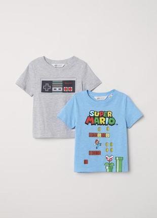 Набор футболок h&m р.110-116, 4-6 лет