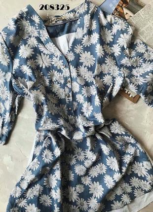 Лёгкая блуза- туника