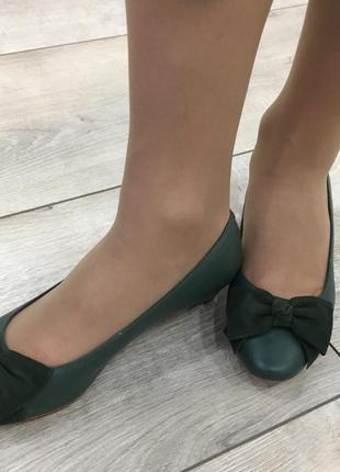 Новые модельные туфельки marks&spencer 36-37 р.