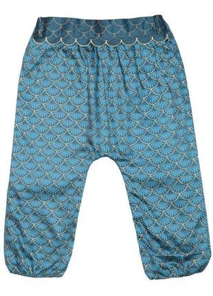Новые бирюзовые брюки для девочки, kiabi, vu861