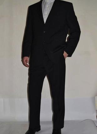 M&s классический костюм, шерсть. состояние идеал