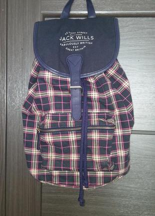 Брендовый женский рюкзак jack wills