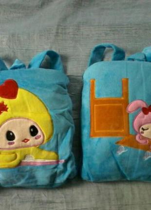 Плед подушка игрушка рюкзак