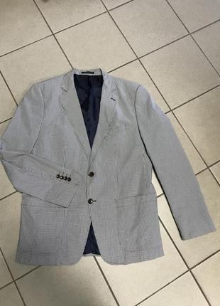 Пиджак фирменный оригинал стильный zara размер 54-56