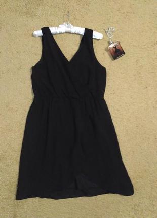 Обвал цен - стильное чёрное платье от h&m