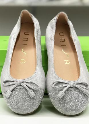 Кожаные туфельки unisa (испания)