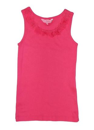 Новая розовая майка для девочки, ovs kids, 6737289