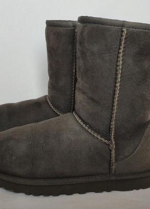 Ugg classic short 5825 grey. размер 38