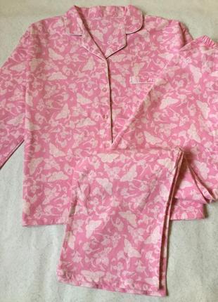 Пижама фланелевая размер 16-18