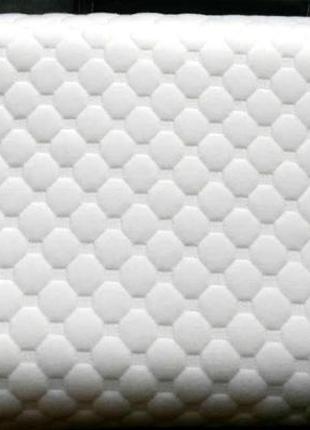 Ортопедическая подушка с эффектом памяти анатомическая мягкая для сна на животе ортекс