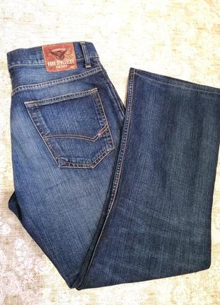 Крутые джинсы от tommy hilfiger w34 l30 оригинал