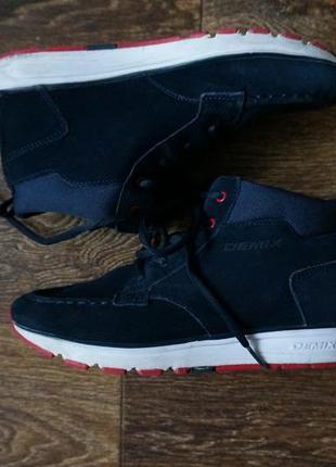 Кроссовки ботинки demix натуральная замша
