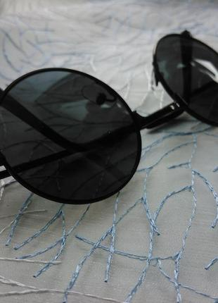 Окуляри круглі чорні (очки)3