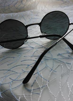 Окуляри круглі чорні (очки)2
