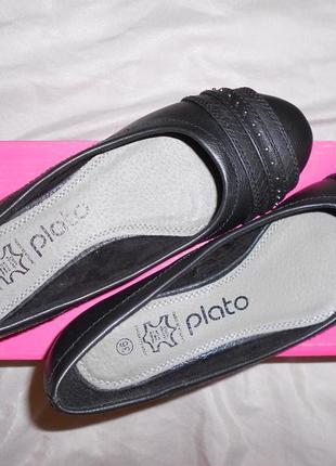 Plato очень удобные туфли балетки кожаная стелька, р.36, длина 22,5 см