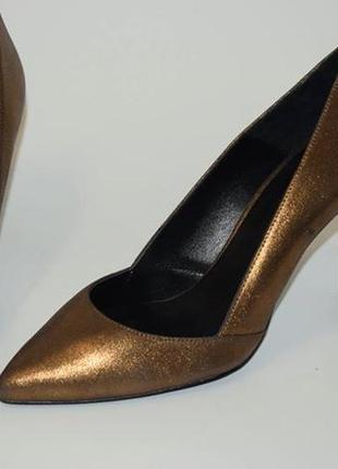 Кожаные туфли лодочки minelli