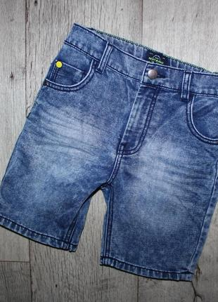 Стильные бриджи шорты джинсовые некст next 8 лет, рост 128 см.