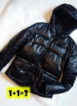 Divided by h&m короткий пуховик xs-s дутая куртка пух объемная черная стеганая тренд