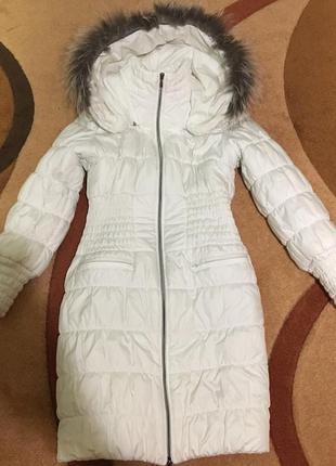 Пуховик куртка курточка зима демисезон холлофайбер