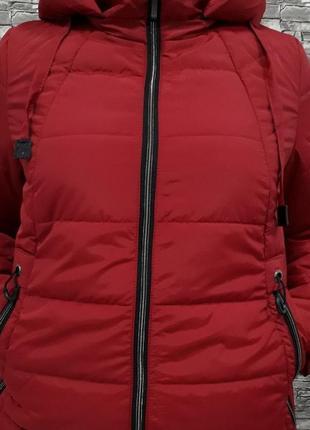 Куртка женская батал (демисезон)