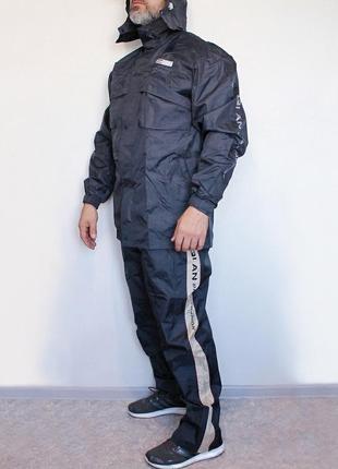 Абсолютно непромокаемый мужской костюм для рыбалки/туризма/охоты/велоспорта размер 4xl