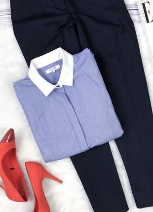 Базовая классическая рубашка в полоску