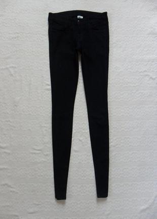 Стильные черные джинсы скинни h&m, 28 размер.