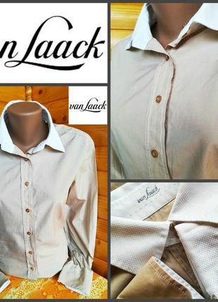 Стильная  рубашка от известного премиум бренда  van laack, оригинал, р. l