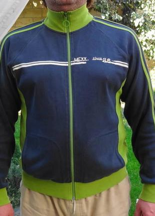 Mexx. улётная спортивная кофта, олимпийка на молнии.
