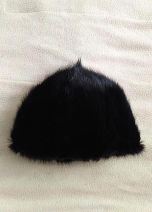 Меховая шапка из соболя женская