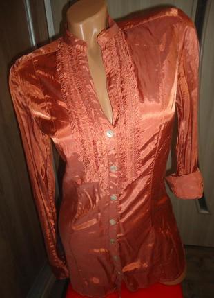 Платье- рубашка- туника р.s (42)