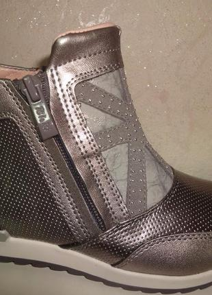 Демисезонные ботинки 27,32 р. bi&ki на девочку, осенние, весенние, би-ки, дівчинку, весна