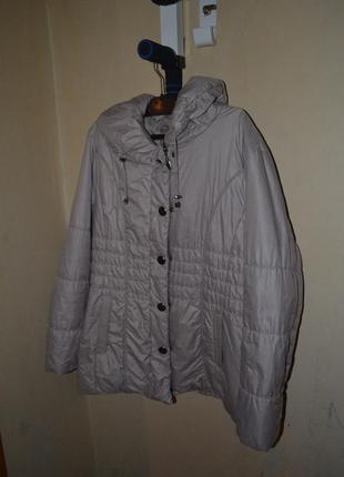 Куртка garry weber edition 52/54размер xxl/xxxl