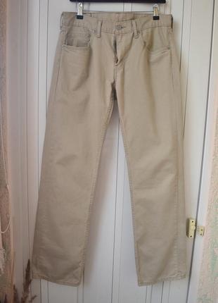 Бежевые джинсы w30 l324 фото
