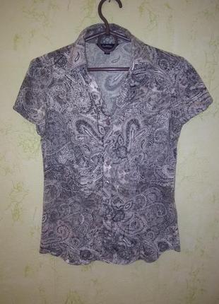 Классная серая рубашка