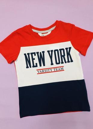 Костюм комплект футболка и штаны h&m на мальчика2