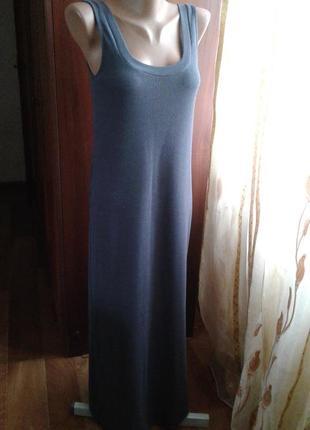 Платье-майка,длинное/weekday