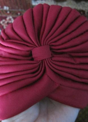39 модная шапка, чалма, хиджаби, тюрбан6
