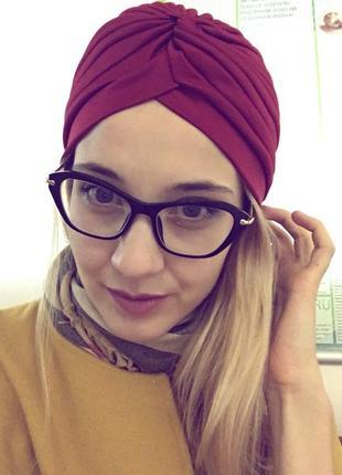 39 модная шапка, чалма, хиджаби, тюрбан7